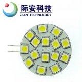 G4 15SMD 5050 10-30V 1.26W LED Auto-Licht