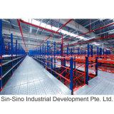 罪Sino倉庫のMezzaineの鋼鉄プラットホームおよびMulti-Tierラック