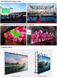 HD bewegliches Bildschirm-Zeichen der LED-Bildschirmanzeige-P3.9 LED für das im Freien Innenstadiums-Mietbekanntmachen