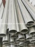 Material de construção 304 Decoração de Aço Inoxidável tubo redondo de aço soldadas