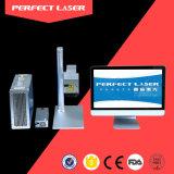 De Machine van de Druk van de Laser van het Roestvrij staal van de Graveur van de Laser van de vezel voor de Mobiele Telefoons van het Horloge