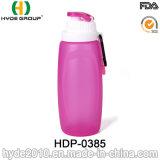 2017 대중적인 320ml BPA는 Foldable 실리콘 물병을 해방한다