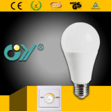 A60 9W Cc 운전사 스위치 Dimmable 지능적인 LED 전구