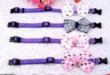 Оптовая торговля Cute регулируемый шерсть лук для собак бабочки