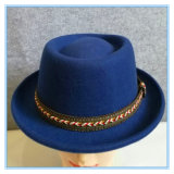 Мода Porkpie Fedora шерсть считает Red Hat