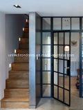 Elegante estilo moderno interior das portas de ferro