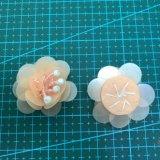 Accessorio 012 dell'indumento del fiore del Sequin