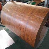 L'impression en bois d'acier galvanisé prélaqué bobine bobine PPGI DX51D Z275