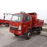 판매를 위한 Sino 경트럭 4X2 6ton 쓰레기꾼 또는 팁 주는 사람