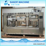 Linea di produzione di riempimento arancione del succo di frutta della bottiglia automatica macchina