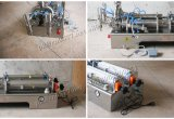 Halbautomatische pneumatische Füllmaschine für Bohnen-Paste (G2WGD1000)