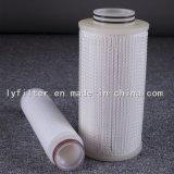 Gefaltete Membrane 0.2 Mikron-Filtereinsatz für Chemikalien-Medizin-Biologie-Filtration