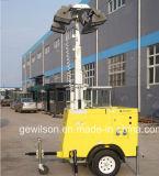 Tipo de remolque hidráulica móvil fabricante de la Torre de Luz