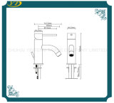 Taraud d'eau simple en laiton sanitaire de vente chaud de trou pour la salle de bains