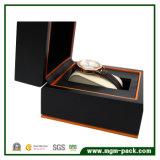 Venda por grosso de plástico personalizado PU Caixa de relógio de couro
