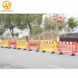 Temporärer Sicherheitsschranke-Zaun, Verkehrs-Straßen-Barrikade