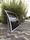 toldo del policarbonato de la PC de 3m m Soild para la decoración de la puerta de la ventana