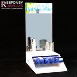 Présentoir cosmétique acrylique de contre- Tableau de promotion pour le centre commercial et la mémoire