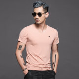 Apretado de los hombres T - Shirt fabricado en China