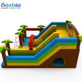 Castello rimbalzante gonfiabile di salto del castello, trasparenza gonfiabile del Bouncer combinata