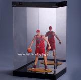 アクリルの立方体の野球の陳列ケース