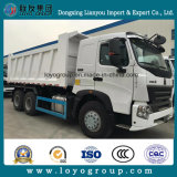 Sinotruck HOWO A7 6X4 371HP dump Truck for halls