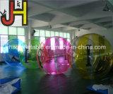 Bola inflable divertida del agua, juego de bola del agua que recorre