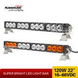 """22"""" 120 Вт Светодиодные лампы высокой интенсивности кри бар для автомобилей"""