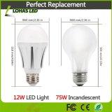 China E27 12W Lâmpada LED de iluminação doméstica