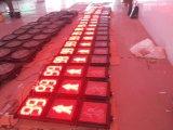 semaforo infiammante del pedone LED di 300mm per sicurezza della carreggiata