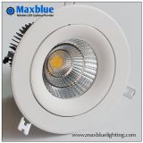 30W Triac 0-10V Dali Dimmable Recessed LED Down Light