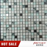 Mischungs-materielles Mosaik, Marmormischungs-Kristallglas und Metallmosaik