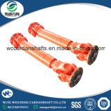 Eje de cardán de poca potencia SWC-I120A-550 para la maquinaria