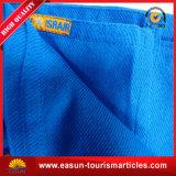 La mousseline de coton Swaddle la couverture mobile bon marché de tissu couvrant de flanelle