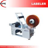 Rotulador de la botella redonda/máquina de etiquetado Semi-Autos de China
