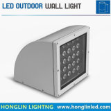 Luz al aire libre combada 25W de la pared de Intiground LED de la iluminación del paisaje
