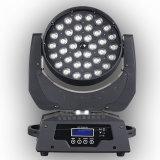 넓은 가변 비율 36PCS 10W LED 세척 이동하는 맨 위 빛
