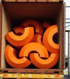 Het Gevulde Water Floater, de Plastic Vlotters van Pu Schuim van de Baggermachine