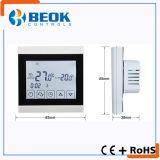 Termóstato programable de la calefacción por agua de Digitaces para el control de la temperatura ambiente