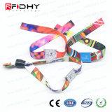 Tessuto del biglietto di festival/Wristband Ultralight a gettare tessuto di RFID MIFARE C