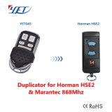 Compatibile con Hormann HS, Organo permanente per la salute e sicurezza, Hsz, Hsd, clone di telecomando 868.3MHz di Hsm