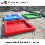Piscine gonflable de PVC, syndicat de prix ferme de couleur solide, syndicat de prix ferme vert