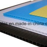 spessore di 2.0mm-12mm e strato di plastica ondulato materiale dei pp