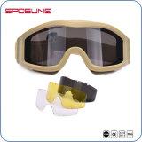 Les lunettes de soleil tactiques à l'épreuve des balles conjuguent les lunettes militaires de militaires de lentille en verre 2.0mm