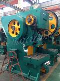 Do perfurador mecânico da porta de J21-100t máquina fria da imprensa, preço hidráulico da máquina de perfuração do ferro de ângulo