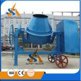 Misturador concreto azul profissional com inclinação do cilindro