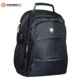 Chubontの二重イヤホーンケーブルが付いている肩によってパッドを入れられるラップトップのバックパック袋