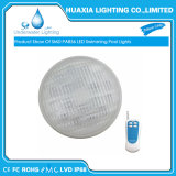 Resistente al agua IP68 12V 12W 18W LED 54W de luz de la Piscina