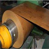 Горячая продажа строительных материалов из дерева Prepainted зерна стальных листов