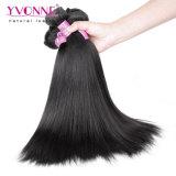イボンヌの毛のYakiのまっすぐなバージンのRemyのブラジルの毛の織り方